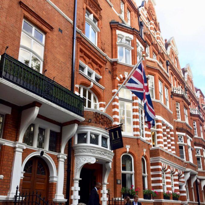 Historische kleuren ontdekken met Little Greene in Londen