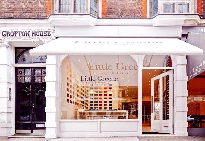 Zien, voelen en ontdekken tijdens persreis Little Greene in Londen